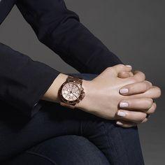 Rose Gold Michael Kors Ladies Chronograph Watch MK5314 wahoo,nice micahelkos watch like it