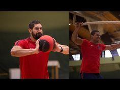 Handball Training (Jump, Pass, Strong, Agility) - YouTube