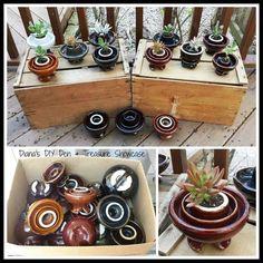 Ceramic Insulator Succulent Planters