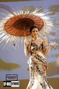 National Costume By Miss Philippines Miss Earth 2013