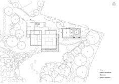 Bathhouse of Fireflies,Site Plan