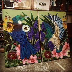 Hayley King aka Flox in NZ #allinadayswork #flox #commissions 5/2016 Reverse Graffiti, New Zealand Art, Nz Art, Maori Art, Graphic Design Print, Visionary Art, Street Artists, Public Art, Bird Art