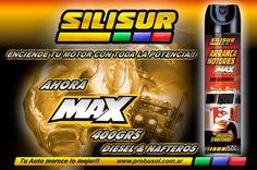 QUE TU MOTOR NO SE QUEDE NUNCA!! SILISUR ARRANCA MOTORES AEROSOL MAX DIESEL Y NAFTA