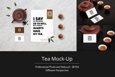 Tea Mock-Up by RDK Design on @creativemarket