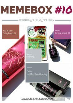 Memebox Global #8 Review, Pictures | via @Glamorable! #bbloggers #beauty #beautybox #koreanskincare #memebox #memeboxglobal #memebox10