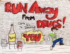 People who take #drugs are actually sitting on a landmine. #internationaldayagainstdrugabuseandillicittrafficking