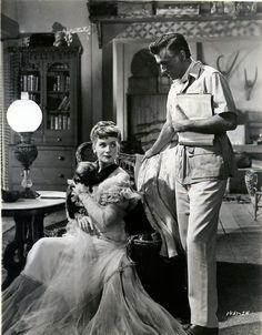 """Stewart Granger & Deborah Kerr - """"King Salomon's Mine"""" (1950)"""
