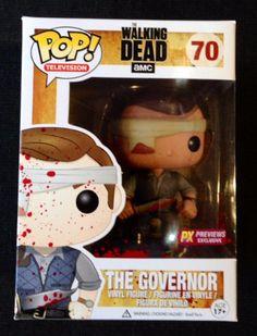 Funko POP! Walking Dead: Bloody Version The Governor Vinyl Figure http://popvinyl.net #funko #funkopop #popvinyls