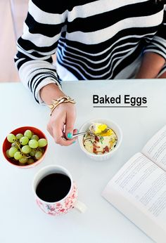 Brunch ~ Baked Eggs