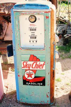 Old Gas Pump by Brian Hancock, via 500px