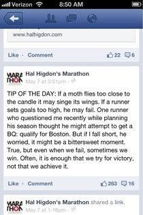 Hal Higdon gives the best advice