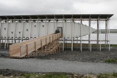 """zumthor: """" Witch Trial Memorial Steilneset by Peter Zumthor and Louise Bourgeois. """""""