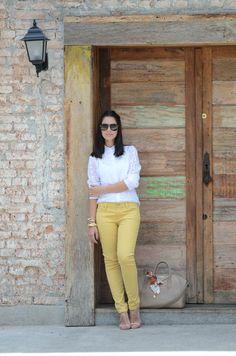 calça amarela 1
