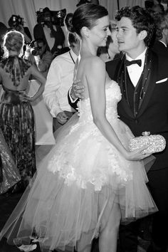 Miranda Kerr and Orlando Bloom #love #dance #couple