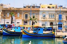 ???????????????????????????????????? Travel Around The World, Around The Worlds, Classic Wooden Boats, Malta Island, Ship Paintings, Archipelago, Vintage Travel, Wonderful Places, Maltese