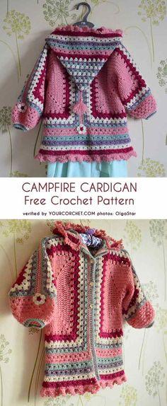 ideas crochet kids poncho pattern sweater coats for 2019 Crochet Girls, Crochet For Kids, Free Crochet, Knit Crochet, Simple Crochet, Knitting Patterns Free, Baby Knitting, Crochet Patterns, Free Knitting