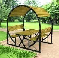 Iron Furniture, Steel Furniture, Furniture Projects, Furniture Design, Wrought Iron Decor, Garden Seating, Interior Design Living Room, House Design, Decoration