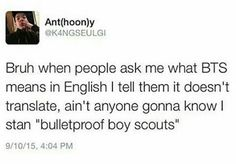 If you wanna introduce people to KPop, you better not start with Bulletproof Boy Scouts of SHINee....