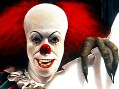 """PennyWise the Clown from Stephen King's """"IT"""""""