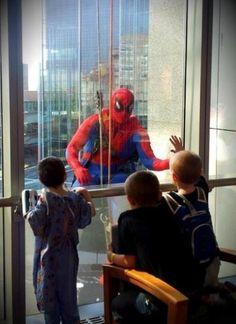 Hi spiderman :D