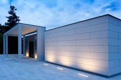 Pazin Chapel - Simes S. luce per l'architettura Exterior Lighting, Outdoor Lighting, Outdoor Decor, Lighting Ideas, Architectural Lighting Design, Indirect Lighting, Light Architecture, Landscape Lighting, Lights