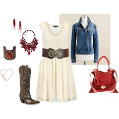 I want to rock this outfit at Rodeo! <3 <3 <3