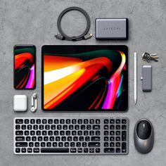 Take your iPad Pro to the next level with Satechi ⚡️ High Tech Gadgets, Tech Hacks, New Gadgets, Electronics Gadgets, Latest Tech Gadgets, Ipad Accessories, Computer Accessories, Macbook Pro, Iphone Png