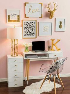 25 Fabulous ideas for a home office in the bedroom   Bedrooms, Desks ...