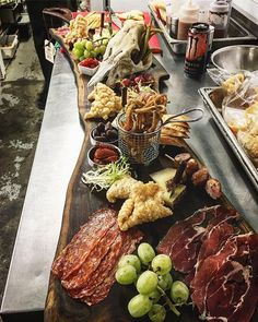 It's amazing what chef Gordon from _radiusdining is doing with our charcuterie Boards! Do yourself a favour and go get one! Posh Nosh, Chef Gordon, Hors D'oeuvres, Charcuterie Board, Canapes, Get One, It's Amazing, Favors, Cheese