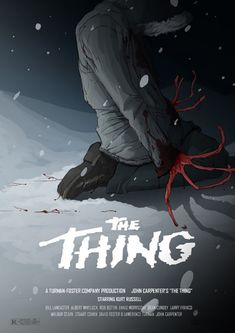 Alternative Movie Poster for The Thing by Will Tempest