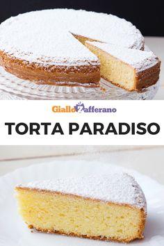 Torta paradiso: tanto semplice quanto goloso. Segui le indicazioni dello Maestro Pasticcere Sal De Riso e scopri come preparare il famoso dolce di Pavia! #torta #paradiso #paradise #cake #salderiso #chef #pasticcere #breakfast #colazione #dessert #dolce #sweet #easy #quick #recipe #ricetta #facile #veloce #giallozafferano [Easy italian paradiso cake recipe by Sal De Riso] Paradise Cake Recipe, Cake Recipes, Dessert Recipes, Desserts, Cheesecakes, Vegan Kitchen, Almond Cakes, Asian Cooking, Learn To Cook