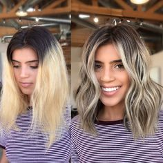 Ashy Blonde Makeover In One Session