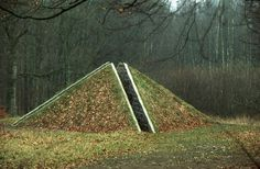 Pyramiden by Gunilla Bandolin Constructed as part of the Wanås 1990 exhibition, and is now part of the permanent collection of the Wanås Foundation.