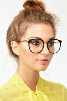 Ivy League Glasses - Black