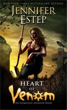 Heart of Venom by Jennifer Estep, This title will be released on August 27, 2013