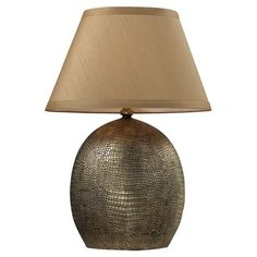 I pinned this Gilead Table Lamp from the Spice & Everything Nice event at Joss and Main!