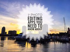 7 Photo Editing Apps You Need to Know About - www.CatsDailyLiving.com