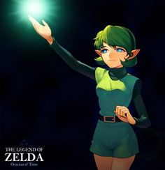 Saria. She looks WAY too old in this picture, but other than that it is great.