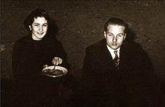 Farouk and Queen Farida on their honey moon.  P.S. King Farouk doen't look so happy!