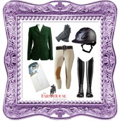 """""""Modern Equitation Look"""" by farmhousetack on Polyvore"""