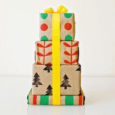 Christmas Gift Wraps - Adorable Christmas Gift Wrapping