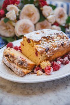 French Yogurt Cake {The Easiest Cake in The World!} - The Londoner Yogurt Pound Cake Recipe, Pound Cake Recipes, Easy Cake Recipes, Real Food Recipes, Baking Recipes, Snack Recipes, Chicken Recipes, Snacks, French Yogurt Cake