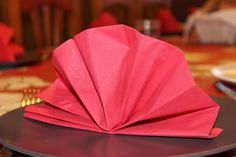 pliage de serviette en papier : forme classique