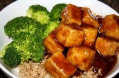 general tso's tofu recipe -sounds hard. Somebody make it for me?