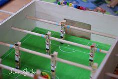 Kicker, Fußball, selber bauen, Tischkicker