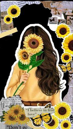 Descarga este y mas #fondosdepantalla en nuestros tableros #fondosdepantallatumblr #fondosdepantallaparacelular #fondosdepantallabonitos #girasoles #background #descargar Iphone Wallpaper, Instagram, Cute, Coloring, Wallpapers, Stickers, Pretty Phone Backgrounds, Watercolor Sunflower, Tumblr Backgrounds
