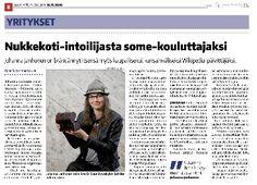 Piilotettu aarre 10 v- synttärihaastattelu Suur-Jyväskylän Lehti