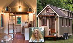 Rachel Ford, 29, from Pittsburgh, bought a tiny 320sq ft home on wheels for $25,000, but most cities won't allow it because of local zoning regulations. She has less than a month to find a legal location.