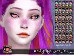 Simsworkshop: Taty Dolly Eyes 04 • Sims 4 Downloads