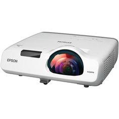 Epson PowerLite 520 3LCD Short Throw Projector V11H674020 B&H